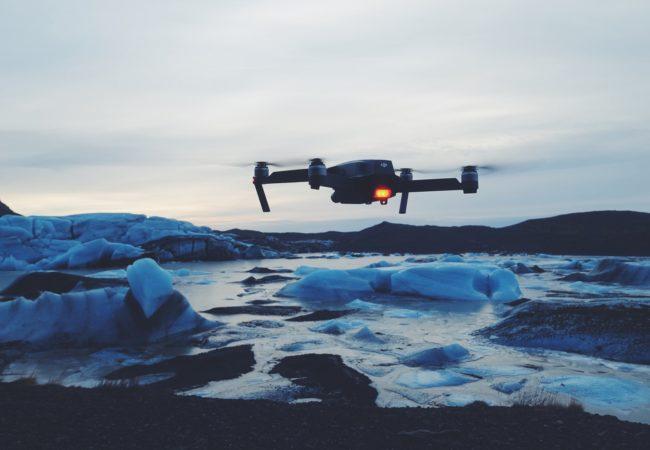 Dron nad Islandią Biuro podróży Goforworld by Kuźniar