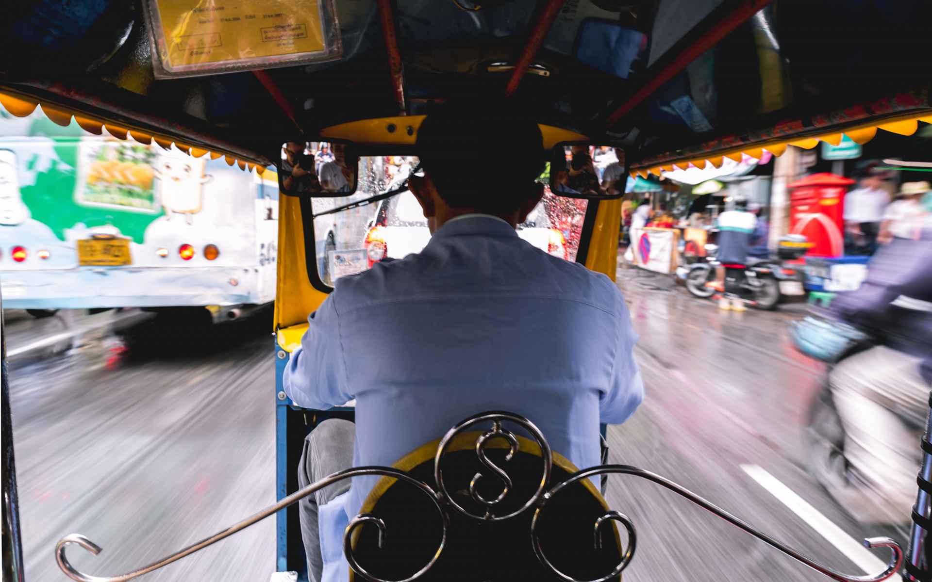 Pełne Klatki: Bangkok Biuro podróży Goforworld by Kuźniar