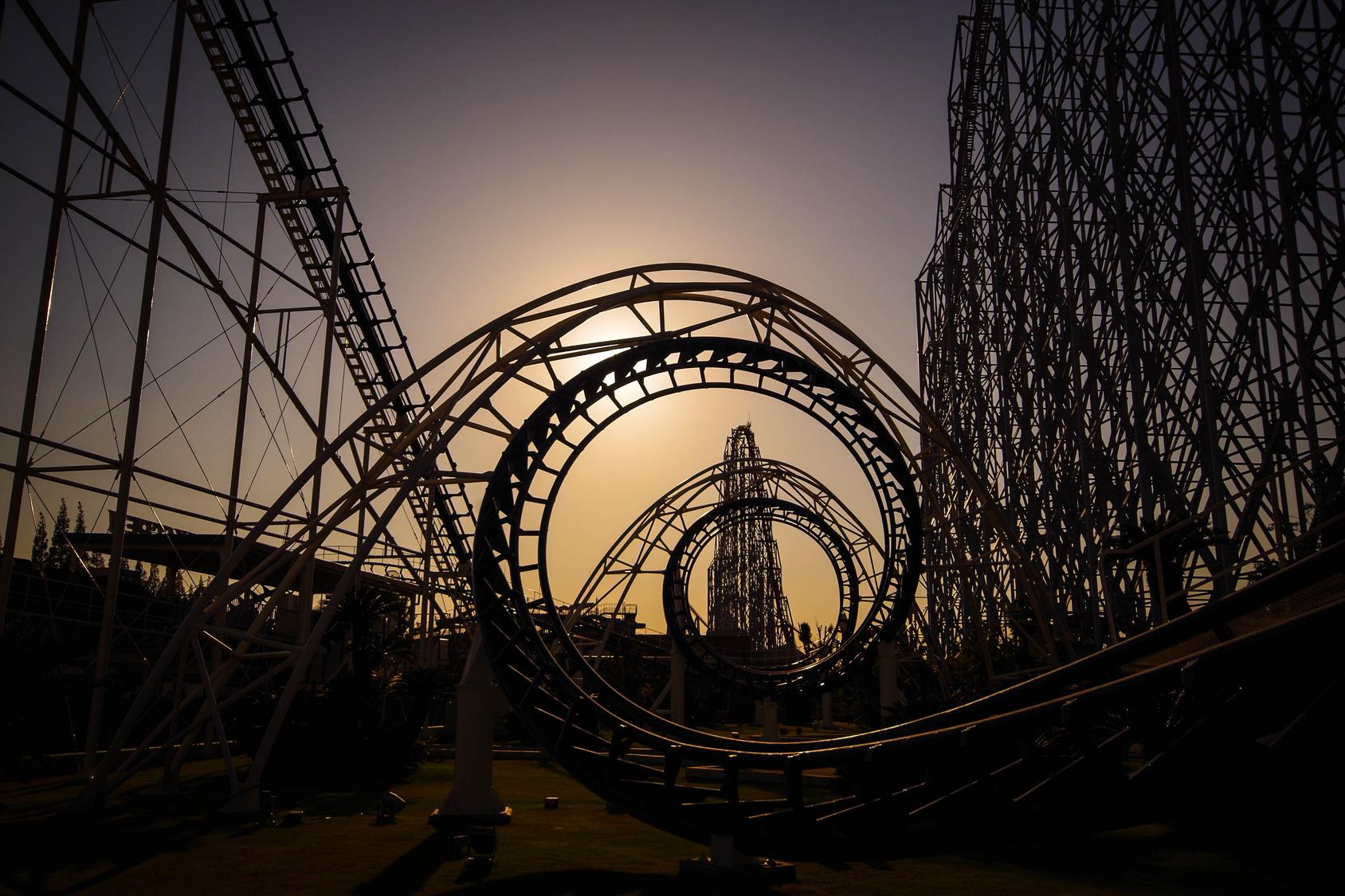 Zakaz krzyku na rollercoasterze Biuro podróży Goforworld by Kuźniar
