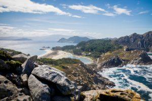 Islas Cíes, rajskie plaże Wysp Bogów Biuro podróży Goforworld by Kuźniar
