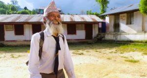 Najstarszy uczeń Nepalu Biuro podróży Goforworld by Kuźniar
