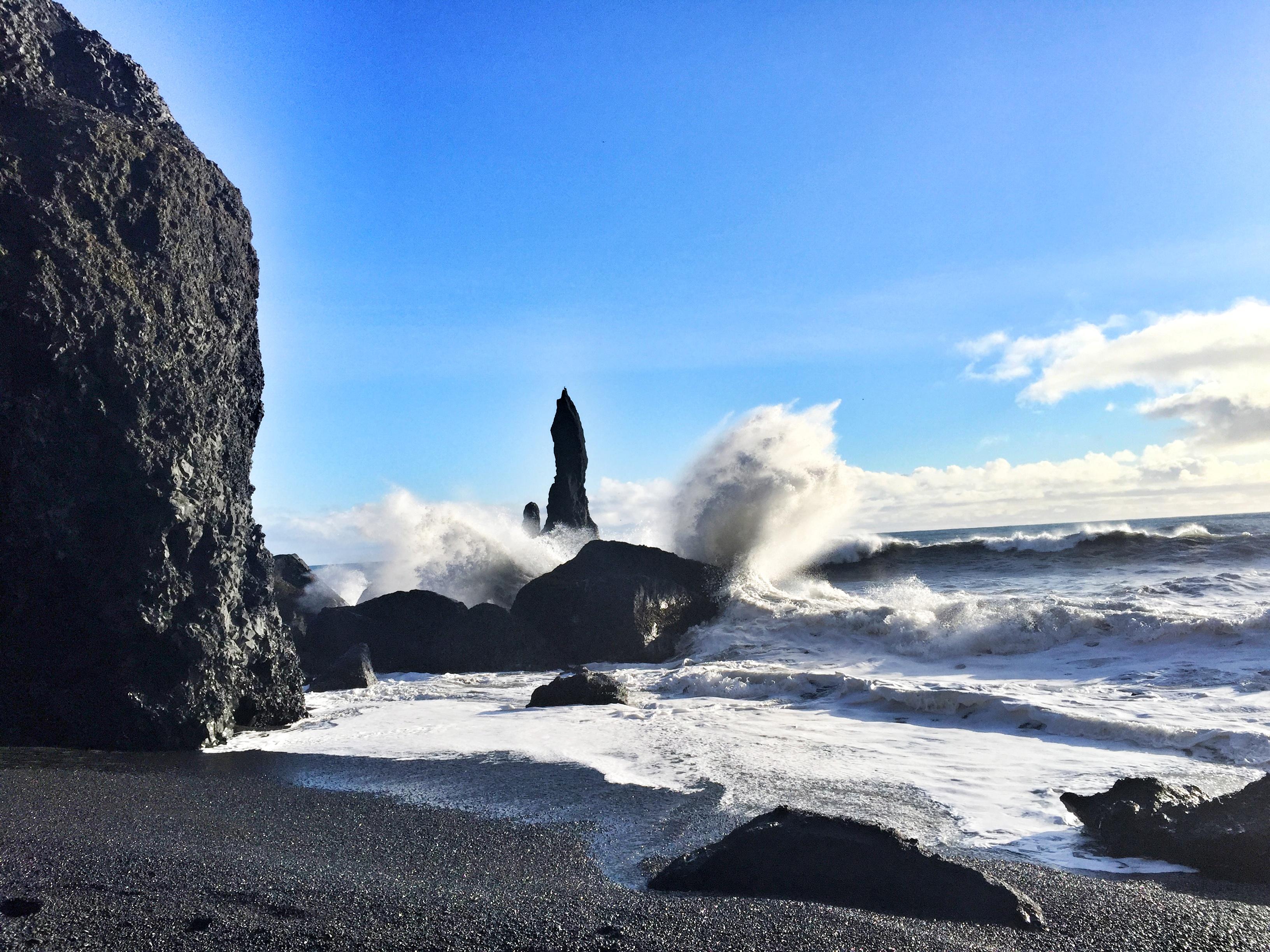 Islandia | Na czarnej plaży Biuro podróży Goforworld by Kuźniar