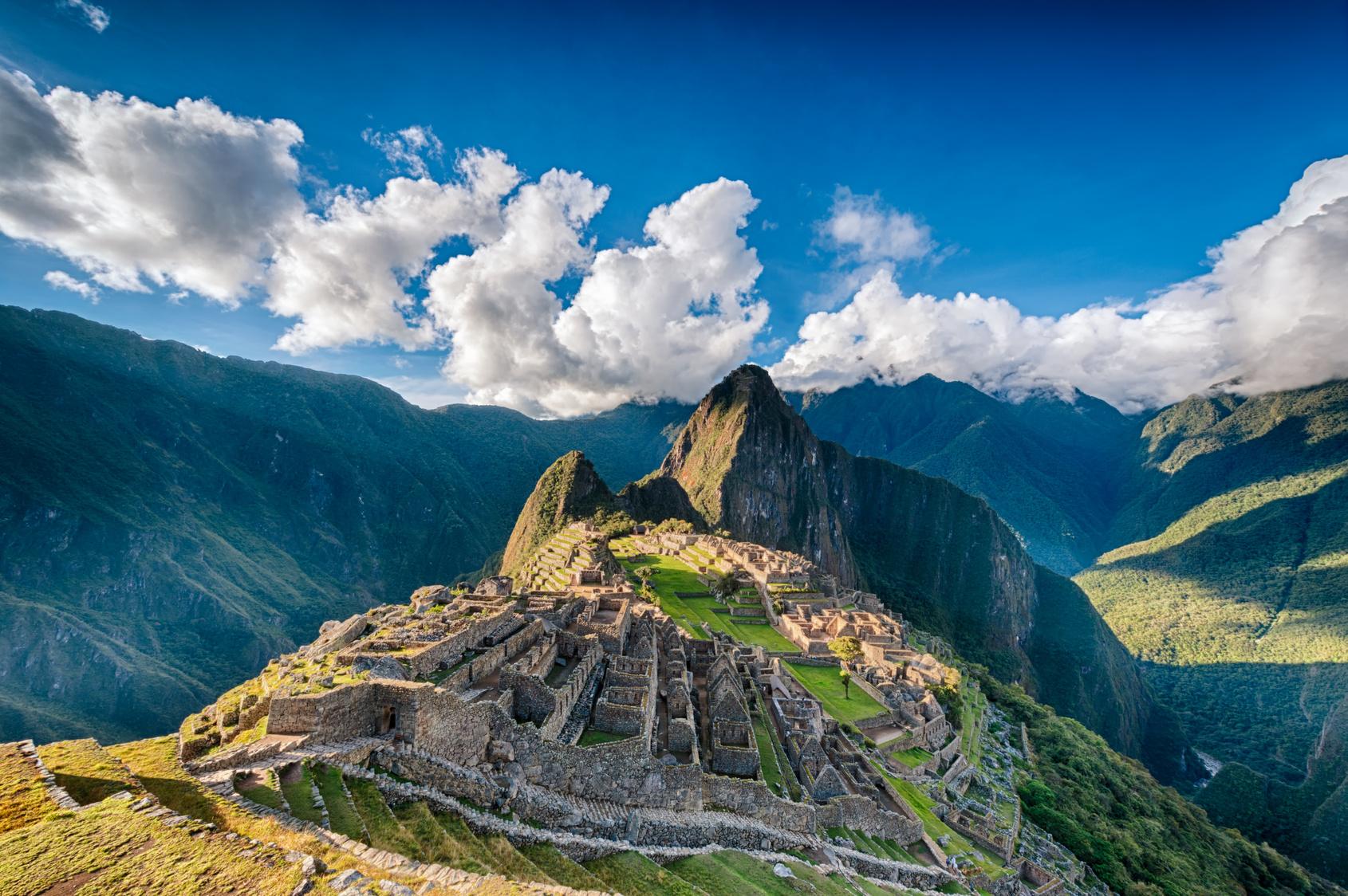 Tłumy w Machu Picchu Biuro podróży Goforworld by Kuźniar