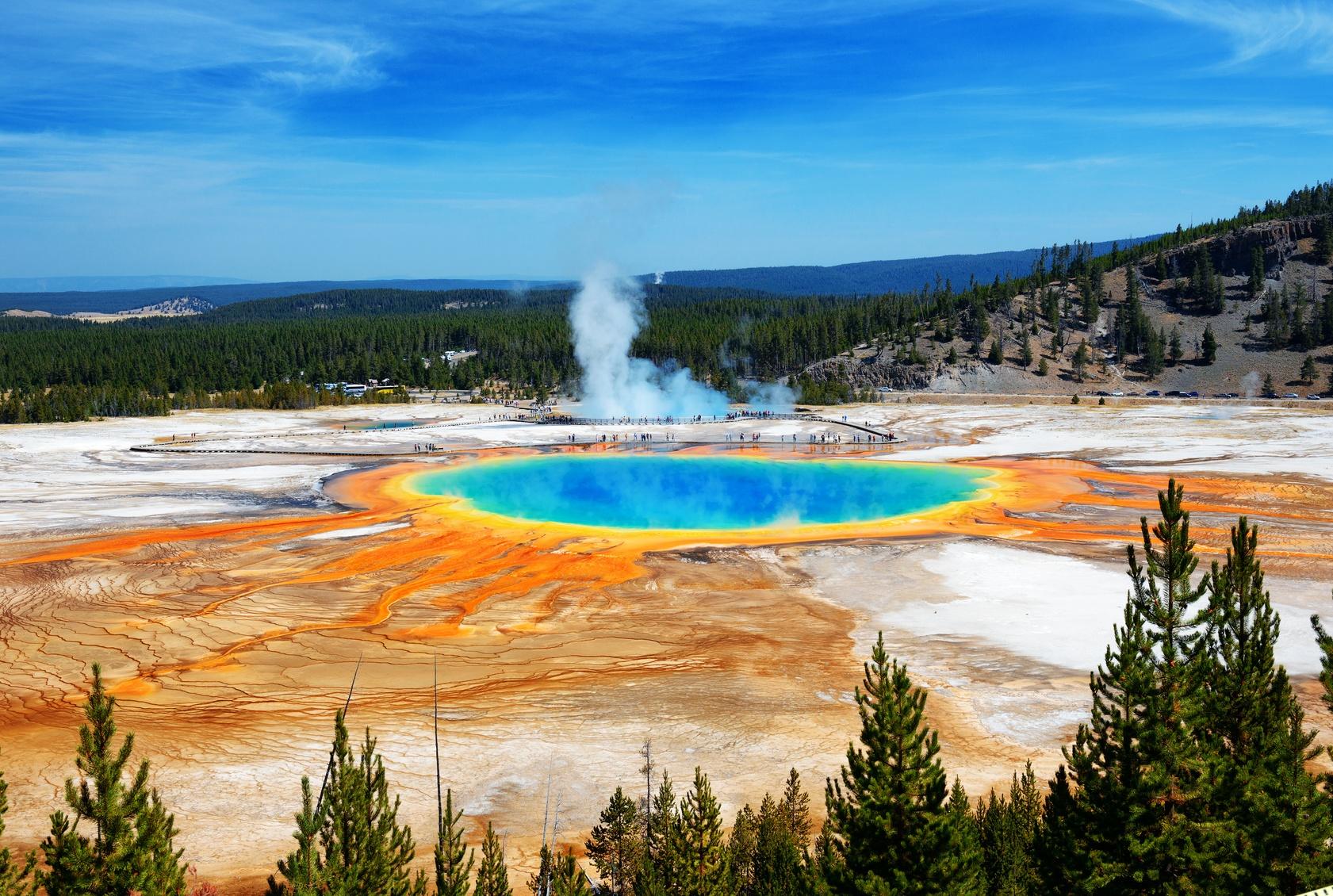 Gejzer z Yellowstone Biuro podróży Goforworld by Kuźniar