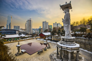 Root Bench w Seulu Biuro podróży Goforworld by Kuźniar