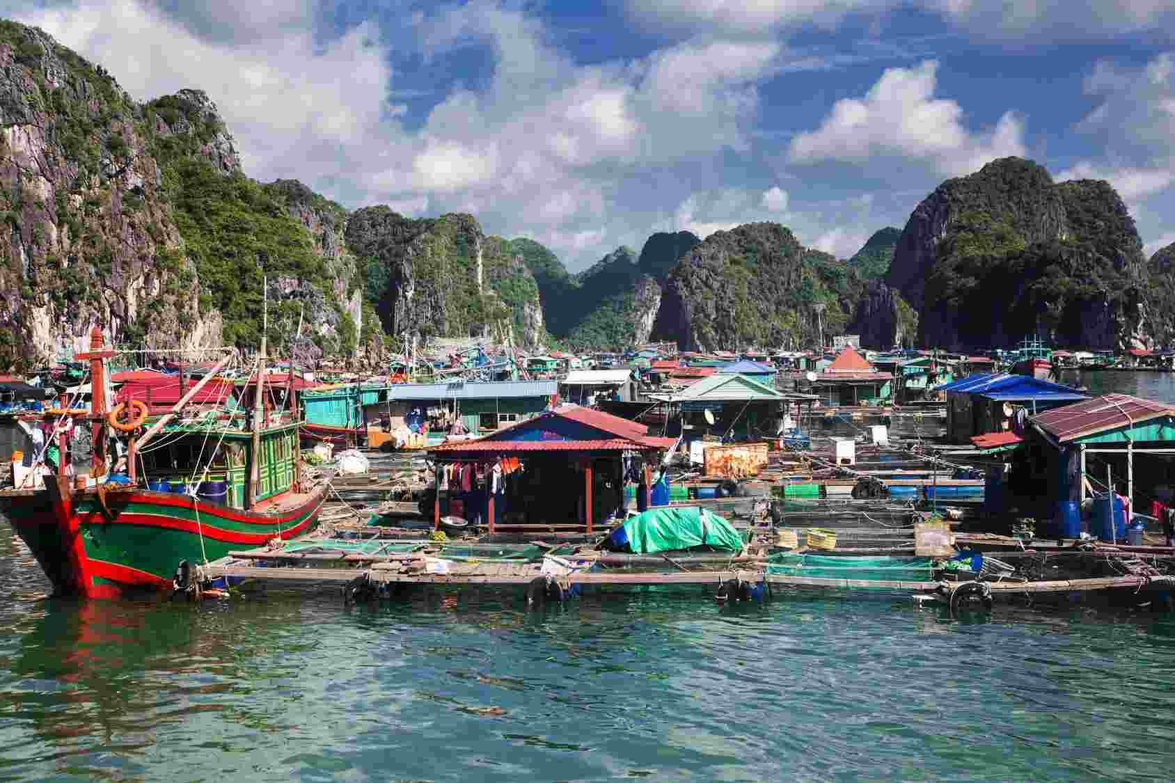 Pływający raj w Wietnamie Biuro podróży Goforworld by Kuźniar