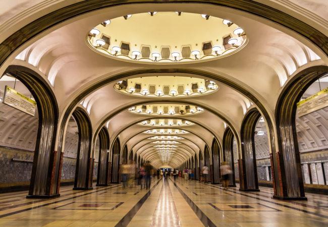 Odkryj moskiewskie metro Biuro podróży Goforworld by Kuźniar