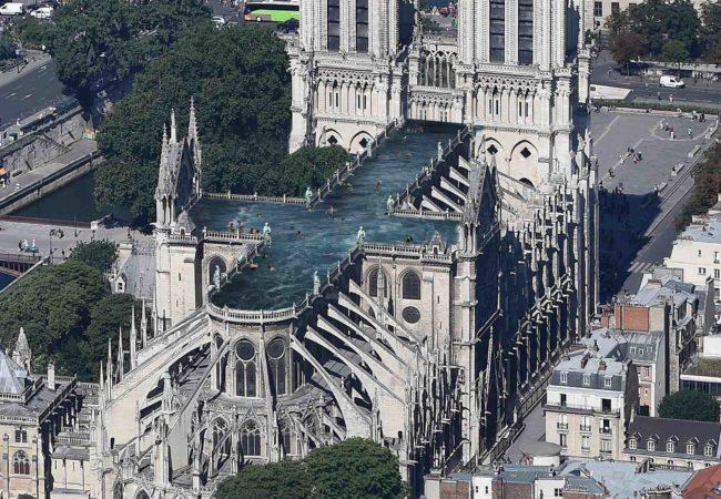 Basen na dachu Notre Dame? Biuro podróży Goforworld by Kuźniar