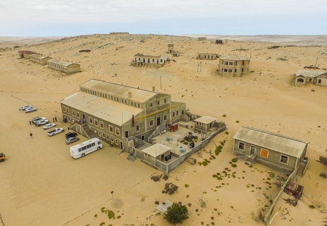 Opuszczone miasto w Namibii Biuro podróży Goforworld by Kuźniar