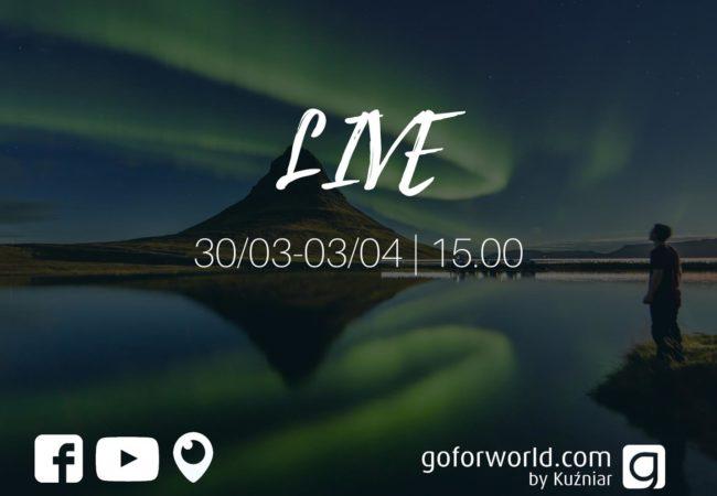 LIVE | Na żywo o podróżach Biuro podróży Goforworld by Kuźniar