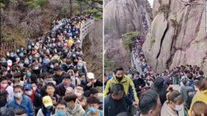 Tłum w Chinach Biuro podróży Goforworld by Kuźniar