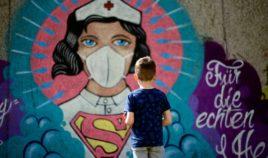 Murale w czasie zarazy Biuro podróży Goforworld by Kuźniar
