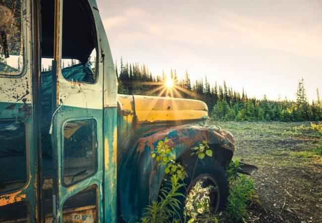 Legendarny autobus Alaski znika Biuro podróży Goforworld by Kuźniar