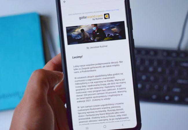 Zapisz się na newsletter goforworld.com! Biuro podróży Goforworld by Kuźniar