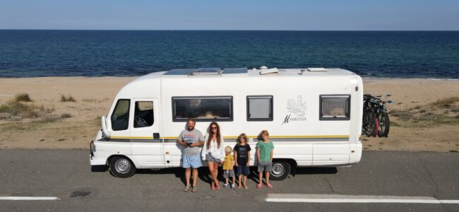 Rodzina kamperem w stronę słońca Biuro podróży Goforworld by Kuźniar
