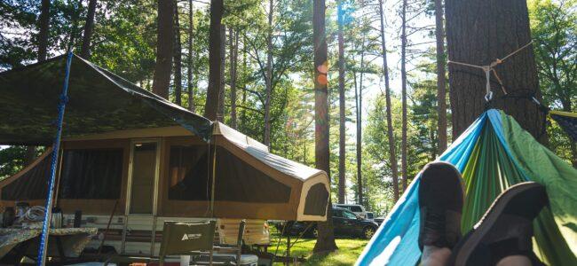 Zanocuj w lesie! Biuro podróży Goforworld by Kuźniar